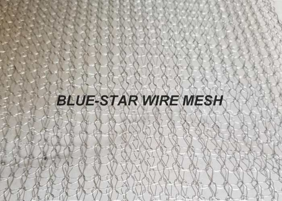 Aluminium Knitted Wire Mesh Wire Dia 0.13 - 0.3mm For EMI & RFI Shielding